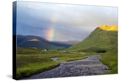 Rainbow Over River Clunie, Scotland