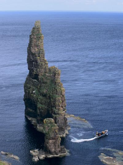 Duncansby Head, Caithness, Highland Region, Scotland, United Kingdom, Europe-Patrick Dieudonne-Photographic Print