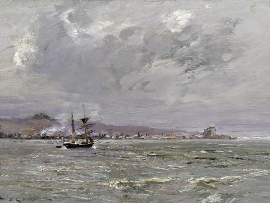 Dundee and Broughty Ferry from the South-William Bradley Lamond-Giclee Print