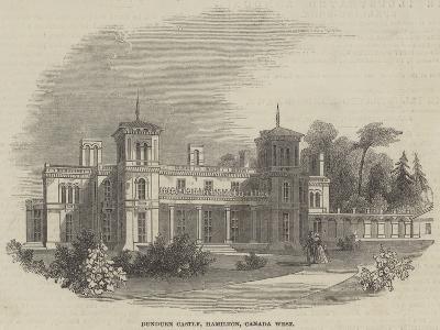 Dundurn Castle, Hamilton, Canada West--Giclee Print