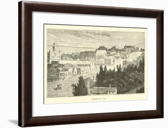 Dunedin in 1870--Framed Giclee Print