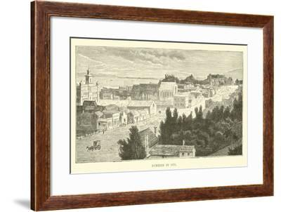 Dunedin in 1870--Framed Giclee Print