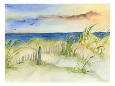 Dunes at Duck-Terry Bailey Burton-Art Print