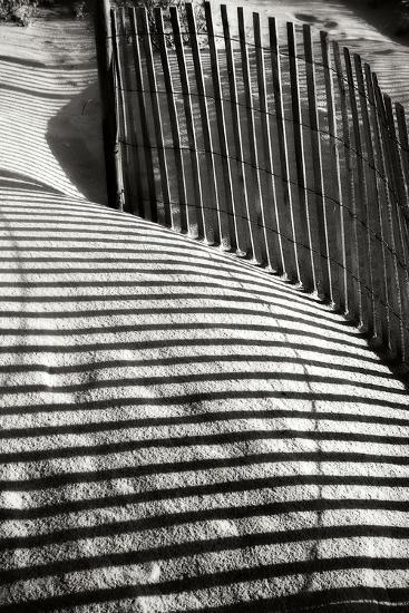 Dunes Fence VI-Alan Hausenflock-Photographic Print