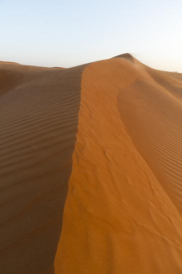 Dunes in the Wahiba Sands at Sunset-Sergio Pitamitz-Photographic Print