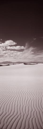 Dunes, White Sands, New Mexico, USA--Photographic Print