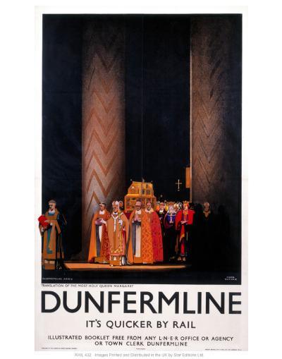 Dunfermline--Art Print