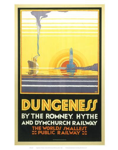 Dungeness--Art Print