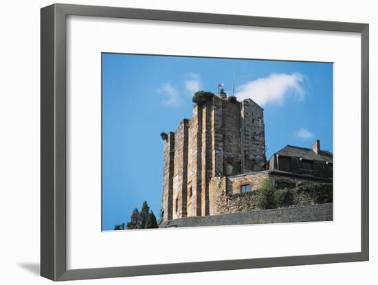 Dungeon of Chateau of Turenne, 14th Century, Limousin, France--Framed Photographic Print