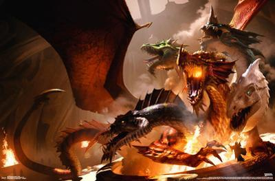 DUNGEONS AND DRAGONS - TIAMAT
