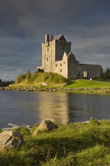 Dunguaire Castle Near Kinvara, County Galway, Republic of Ireland-Brian Jannsen-Photographic Print