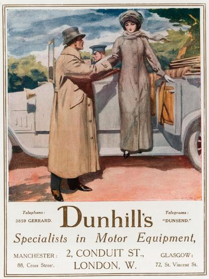 Dunhill's, Specialists in Motor Equipment, 2 Conduit Street--Giclee Print