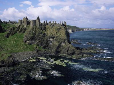 Dunluce Castle, County Antrim, Northern Ireland, United Kingdom-Roy Rainford-Photographic Print