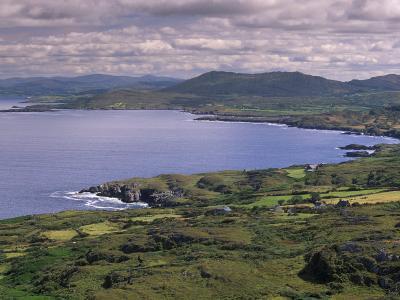 Dunmanus Bay, Mizen Peninsula, County Cork, Munster, Republic of Ireland, Europe-Patrick Dieudonne-Photographic Print