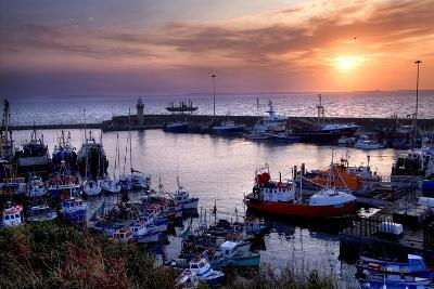 Dunmore East Harbor in Waterford, Ireland-Chris Hill-Photographic Print