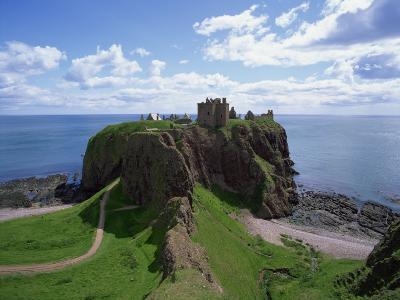 Dunnottar Castle, Near Stonehaven, Highlands, Scotland, United Kingdom, Europe--Photographic Print