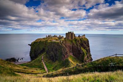 Dunnottar Castle Outside of Stonehaven, Aberdeenshire, Scotland, United Kingdom, Europe-Jim Nix-Photographic Print