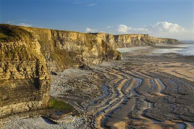 Dunraven Bay, Southerdown, Vale of Glamorgan, Wales, United Kingdom, Europe-Billy Stock-Photographic Print