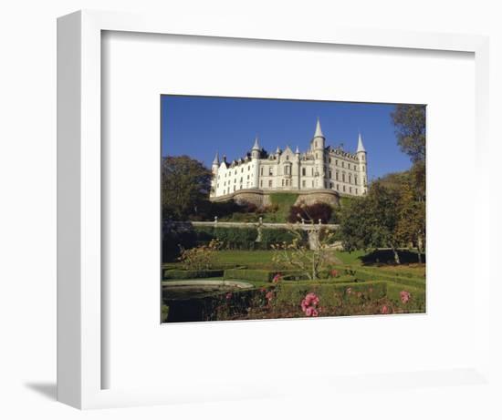 Dunrobin Castle and Grounds, Near Golspie, Scotland, UK, Europe-Julia Thorne-Framed Photographic Print