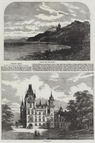 Dunrobin Castle, the Seat of the Duke of Sutherland, in Scotland-Samuel Read-Giclee Print