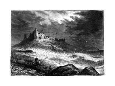 Dunstanburgh Castle, C1850--Giclee Print