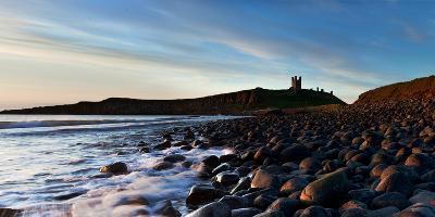 Dunstanburgh Castle, Northumberland, England, United Kingdom, Europe-John Alexander-Photographic Print