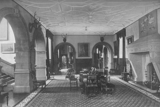 'Dunster Castle, Somerset - Earl of Carhampton', 1910-Unknown-Photographic Print
