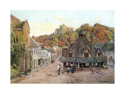 Dunster, Somerset 1912-AR Quinton-Giclee Print