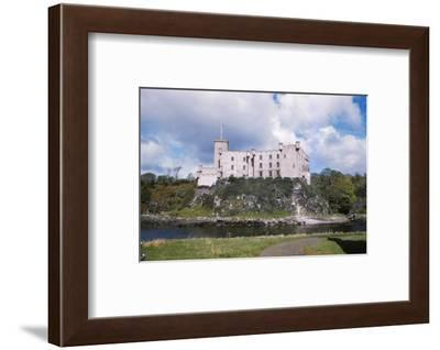 Dunvegan Castle from the Seaward side, Isle of Skye, Scotland, 20th century-CM Dixon-Framed Photographic Print