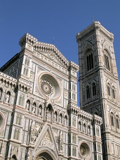 Duomo and Campanile (Cathedral and Bell Tower), Florence, UNESCO World Heritage Site, Italy-Sergio Pitamitz-Photographic Print
