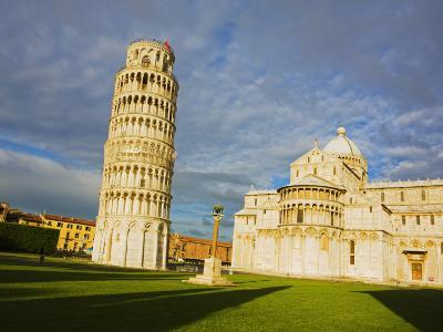 Duomo and Leaning Tower, Pisa, Italy-Terry Eggers-Photographic Print