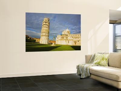 Duomo and Leaning Tower, Pisa, Italy-Terry Eggers-Giant Art Print
