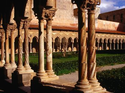 Duomo Cloister (12th Century), Monreale, Italy-Wayne Walton-Photographic Print