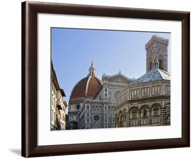 Duomo , Florence, UNESCO World Heritage Site, Tuscany, Italy, Europe-Tondini Nico-Framed Photographic Print