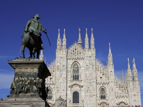 Duomo, Milan, Lombardy, Italy, Europe-Vincenzo Lombardo-Photographic Print