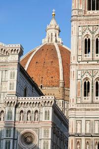 Duomo Santa Maria Del Fiore and Giotto's Campanile in Florence, Tuscany, Italy