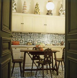 Duplicate of the Kitchen in Contessa Brandolini D'Adda's Paris Apartment