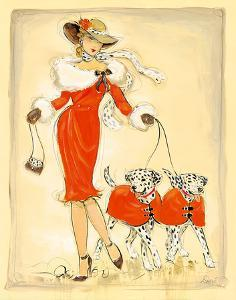 Dancing Dalmations by Dupre