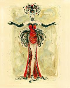 Lady Burlesque I by Dupre