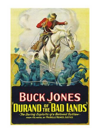 Durand of the Bad Lands--Art Print