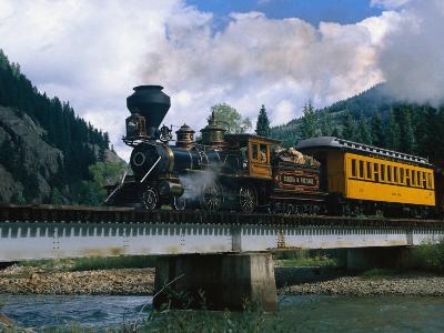 Durango-Silverton Line, CO-Sherwood Hoffman-Photographic Print