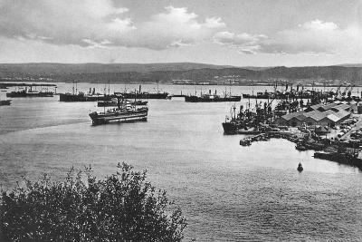 Durban Harbour from the Bluff, South Africa--Giclee Print