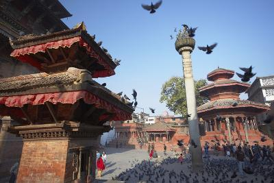 Durbar Square, UNESCO World Heritage Site, Kathmandu, Nepal, Asia-Ian Trower-Photographic Print