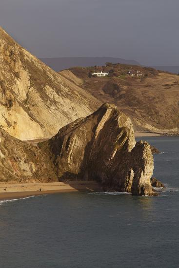 Durdle Door, a Rock Arch on the Jurassic Coast World Heritage Site, Near Lulworth Cove-Nigel Hicks-Photographic Print