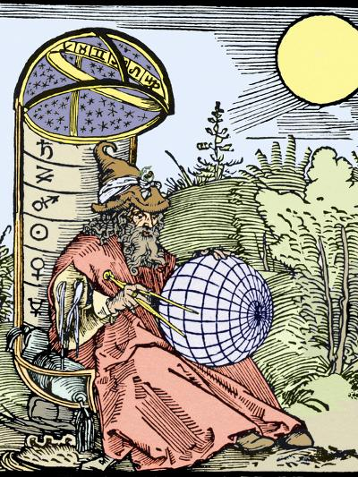 Durer's Astronomer, 1504-Sheila Terry-Photographic Print