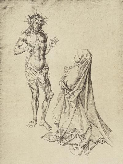 Durer's Christ Appearing to the Virgin Mary-Albrecht D?rer-Giclee Print