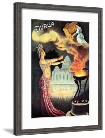 Durga, 1905--Framed Art Print
