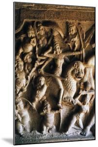 Durga Slaying Demon Mahisha