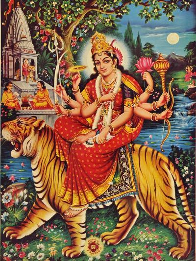 Durga--Giclee Print