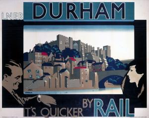 Durham, by Rail